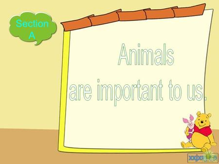 Section A Enjoy the video Find Animals rbhong e a yco w hdsate iuobun ocakip nkmgot.