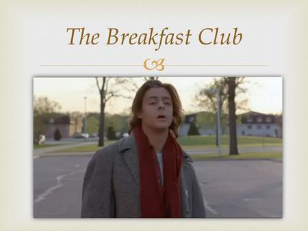 characterization in the breakfast club Don't you forget about taking this quiz don't don't don't you want to know which breakfast club character you are then take the bull by the horns and find out.