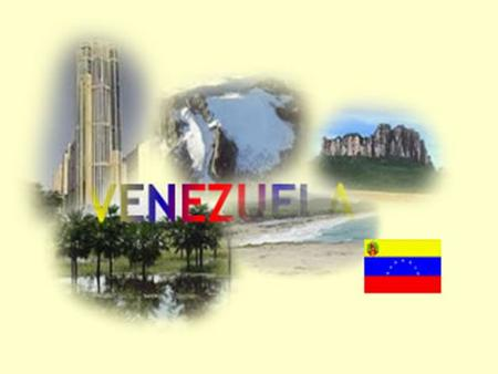 INTRODUCTION Has 23 states and the District Capital has an economy based in the main oil refining and extraction.