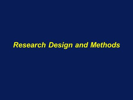 Research Design and Methods. Research Plan What you intend to do –Specific Aims Why it is important –Background and Significance What has been done so.