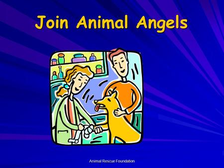 Animal Rescue Foundation Join Animal Angels Corey Kuhn.