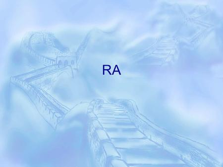 RA. F.A. is a 25-year-old woman with RA. On diagnosis 1 year ago, F.A. had an RF titer of 1:64, signs and symptoms of inflammation in the joints of both.