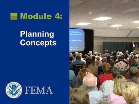Module 4: Planning Concepts. July 2009Recovery Analysis Objectives At the end of this module you will be able to:  Distinguish among various planning.