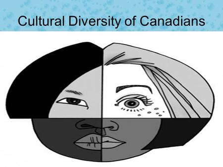 Cultural Diversity of Canadians Text. Cultural Diversity What are your cultural roots? Where did your parents grow up? Your grandparents? –Your great.