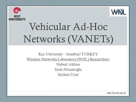 ad hoc networks thesis
