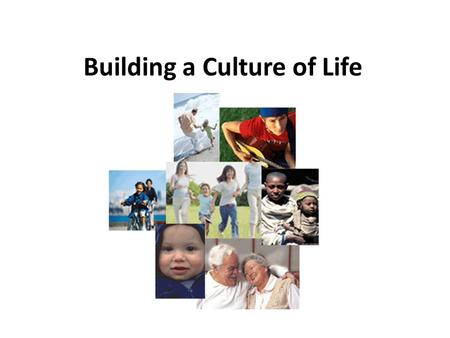 "Building a Culture of Life. Since the church approaches topics like capital punishment and abortion in ""both-and"" terms; it seeks the well-being of women."