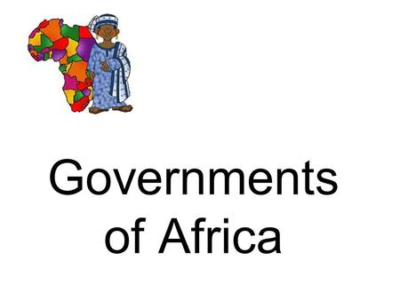 Governments of Africa. Kenya Constitution created in 1963 Constitution guarantees freedoms such as freedom of expression, freedom of movement, and freedom.