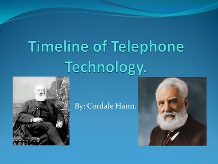 By: Cordale Hann.. Development of the Telephone between the 1840's and 60's. 1849- Antonio Meucci demonstrated a communication device to people in Havana.