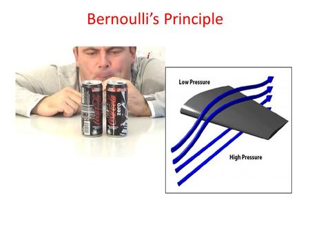 Bernoulli's Principle