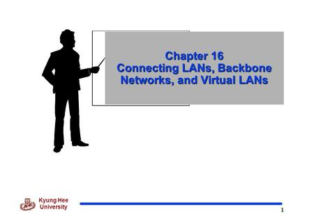Chapter 16 Connecting LANs, Backbone Networks, and Virtual LANs