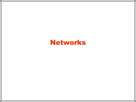 Networks. Local area network (LAN( Wide-area network (WAN( Networks Topology.