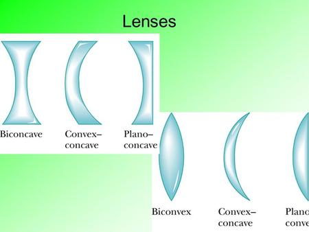 Lenses. Refraction (p 308) Refraction occurs when a wave changes the direction in which it is moving This is caused by a change in speed as the wave passes.