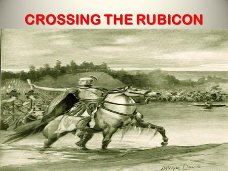 CROSSING THE RUBICON. MURDER Mat.19:17-18; Rom.1:14,15.