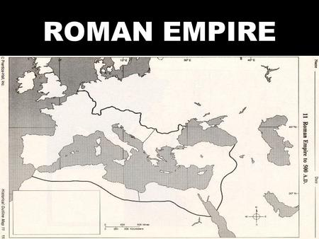 ROMAN EMPIRE. I. REPUBLIC COLLAPSES A. ECONOMIC TURMOIL 1. RICH V. POOR a) LATIFUNDIA – HUGE ESTATES (PLANTATIONS)