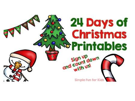 Thank you for purchasing my 24 days of Christmas Printables advent calendar!24 days of Christmas Printables Here are your printables for December 22,