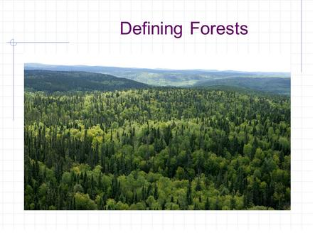 Defining Forests. Common Core/Next Generation Science Standards Addressed! MS ‐ LS2 ‐ 1.- Analyze and interpret data to provide evidence for the effects.