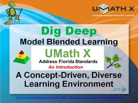 Common Core Standards UMath X Address Florida Standards An Introduction