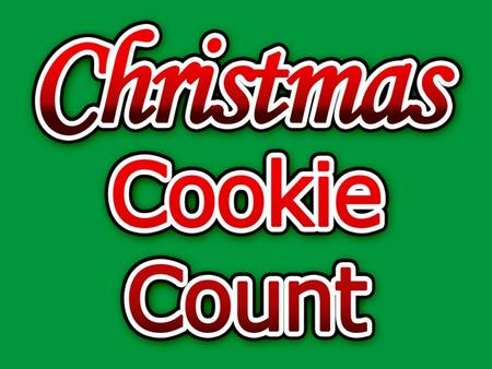 How many cookies can you collect? 10 15 5 5 5 5 25 5 5 10 25 15.