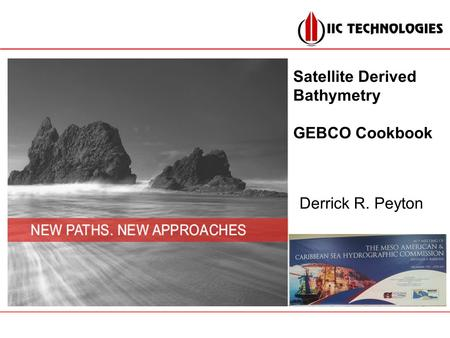 Satellite Derived Bathymetry GEBCO Cookbook