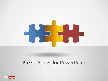 Powerpoint Puzzle Pieces Template Free