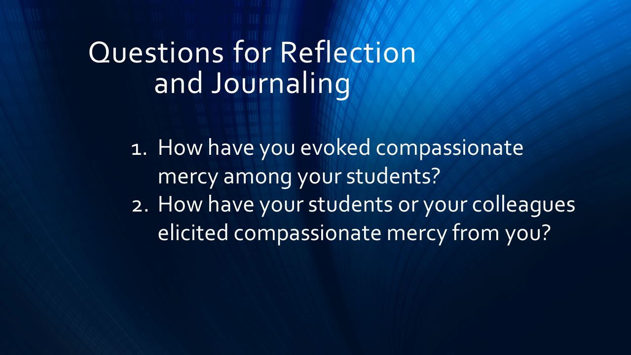 Mercy: THE ABUNDANT COMPASSION OF GOD