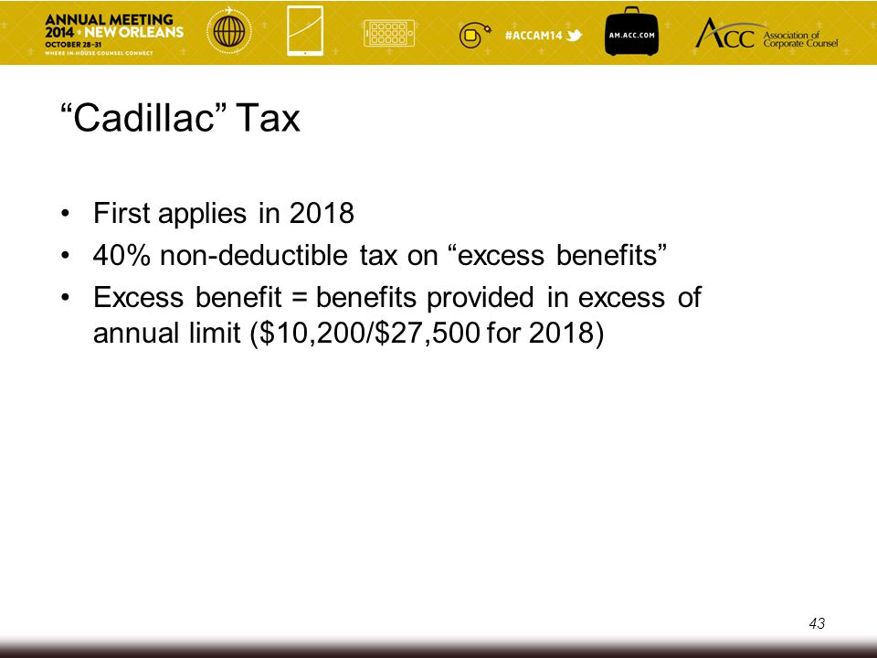 Overview – Code Sections 6055 and 6056 Calendar year basis (regardless of plan year) Effective for 2015, with initial reports due in early 2016 Two overlapping sets of reporting requirements o Code Section 6055 – Health insurance issuer/self-funded plan sponsor – to facilitate compliance with the individual mandate provisions o Code Section 6056 – Employers subject to the coverage mandate – to facilitate compliance with the Employer Mandate and premium subsidies o Our focus today is on the latter – Reports satisfying the latter will also satisfy the former 44
