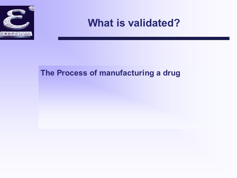 What is Process Validation.