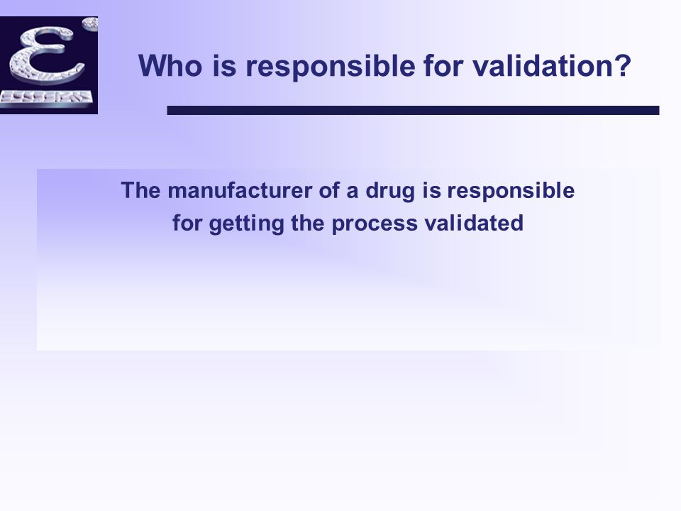 What is FDA validation.