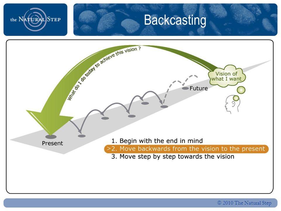  2010 The Natural Step ABCD methodology Is it a step in the right direction.