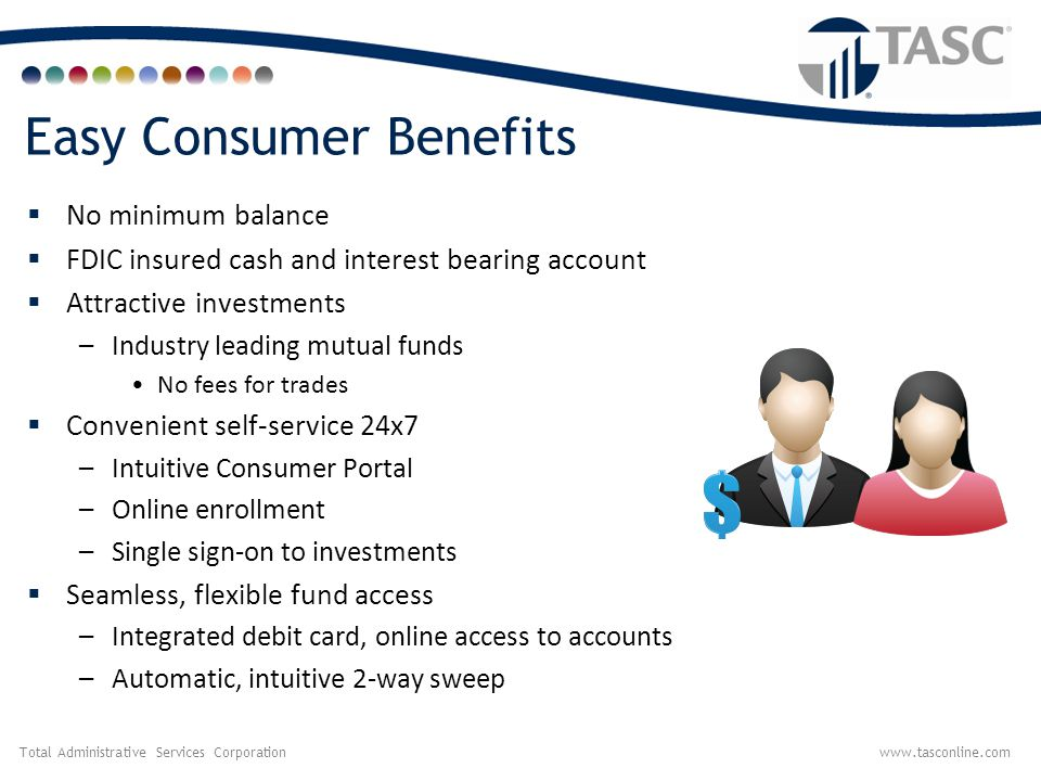 Total Administrative Services Corporationwww.tasconline.com TASC HSA Investment Accounts