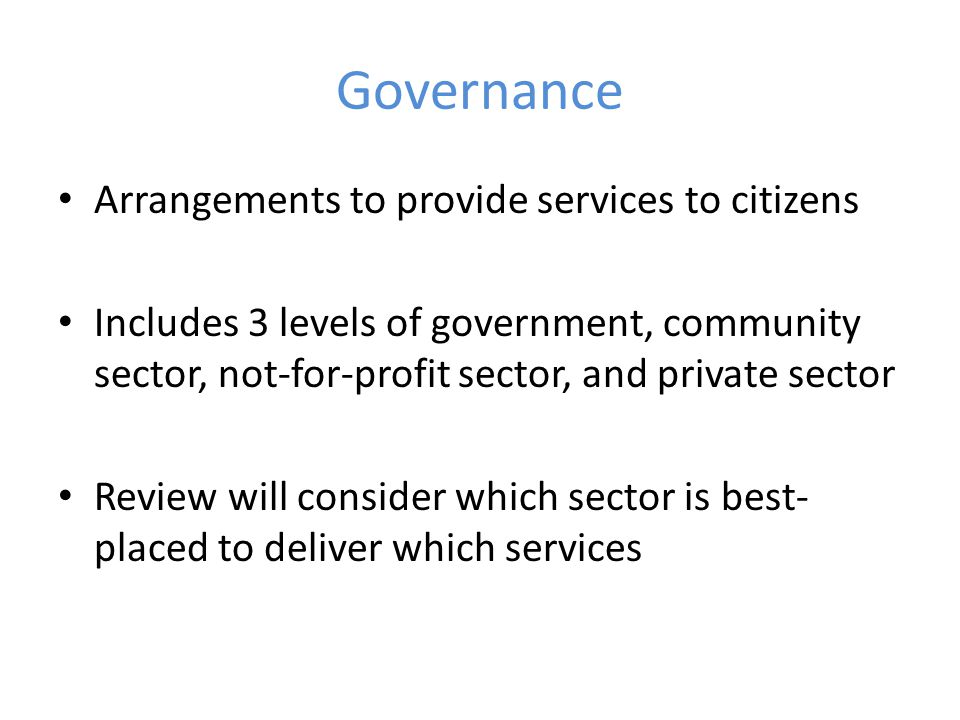 Key Messages Perth Hills is different to suburban Perth, and requires particular consideration to how the community is governed The most important outcome of the review must be that service to our community is improved Responsive, accessible local government and governance