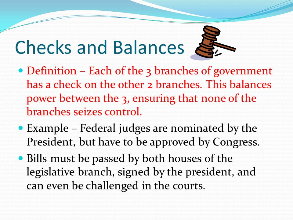 Limited Government Definition – Everybody has to follow the same laws, even members of the government.