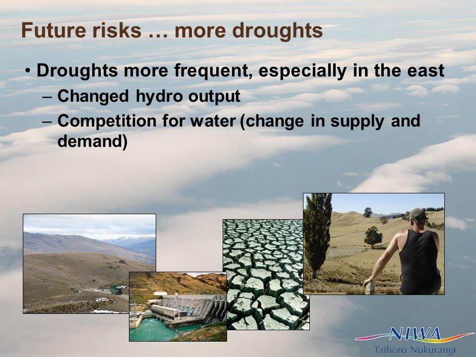 Future risks … coastal flooding Sea level rise – 0.5m +.