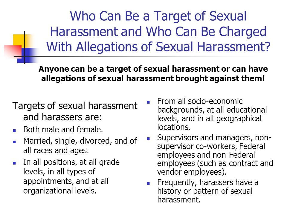 Who is responsible for the Prevention of Sexual Harassment.