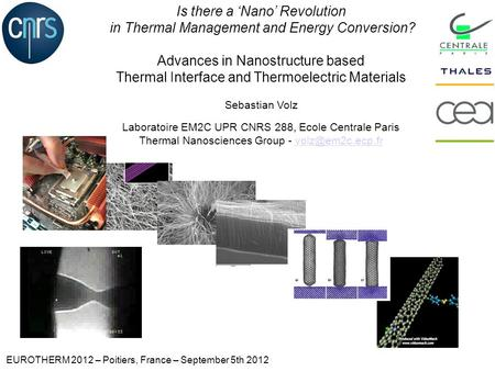 Is there a Nano Revolution in Thermal Management and Energy Conversion? Advances in Nanostructure based Thermal Interface and Thermoelectric Materials.