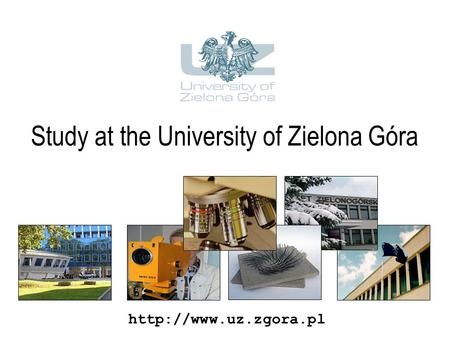 Study at the University of Zielona Góra