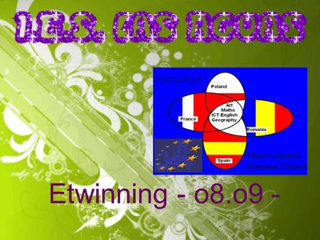 Etwinning - o8.o9 -. Im a girl with a white jacket and jeans. Im between Verónica and Adrián. Im a boy. Im 14 years old and I have got brown hair. Im.