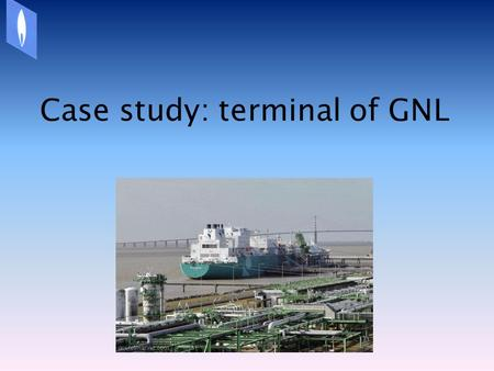 Case study: terminal of GNL. I.Situation of French terminals II.Questions/Answers SUMMARY.