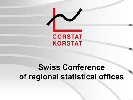 Swiss Conference of regional statistical offices.