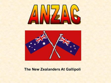 The New Zealanders At Gallipoli The reptilian Axis War-Machine has mobilised. This can only mean one thing….