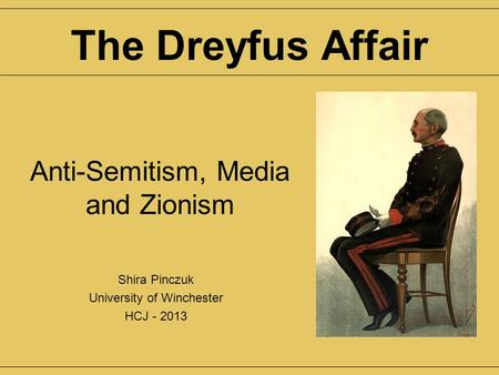 dreyfus affair research paper