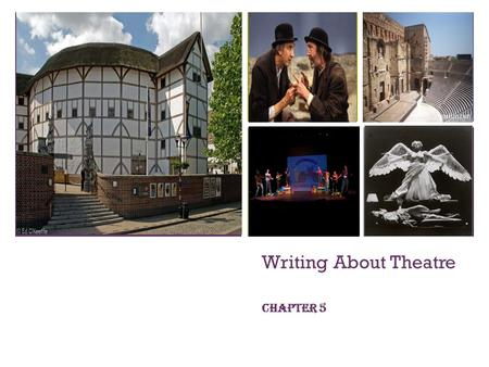 Writing About Theatre Chapter 5.