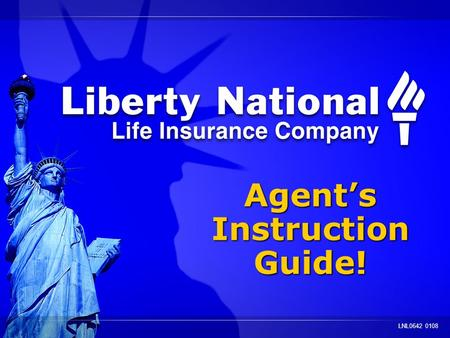 Agents Instruction Guide! Agents Instruction Guide! LNL0642 0108.