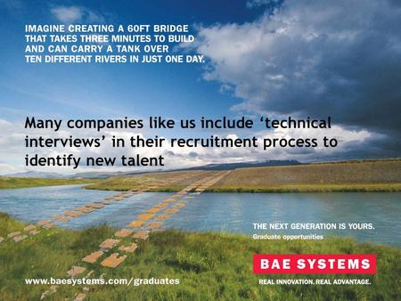 Many companies like us include technical interviews in their recruitment process to identify new talent.