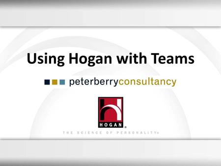 Using Hogan with Teams 1.
