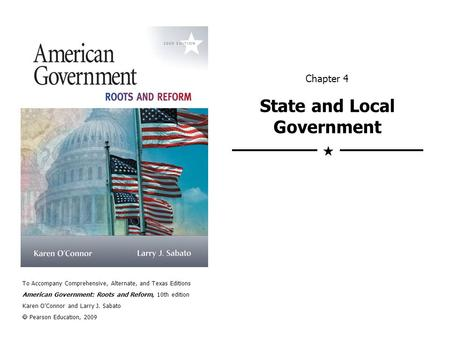 Chapter 4 State and Local Government