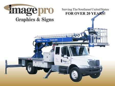 Serving The Southeast United States FOR OVER 20 YEARS !