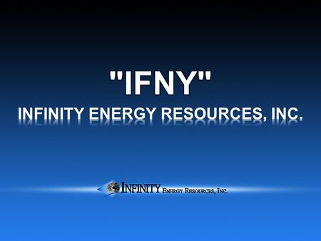 NICARAGUA EXPLORATION PROJECT Blocks Perlas and Tyra Infinity Energy Resources, Inc.