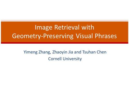Image Retrieval with Geometry-Preserving Visual Phrases
