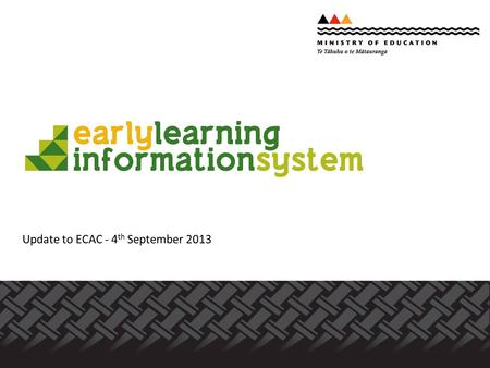 Update to ECAC - 4 th September 2013. 1. IT development and the SMS factor 2. Allocating student numbers 3. ELI will be a partnership - principles of.